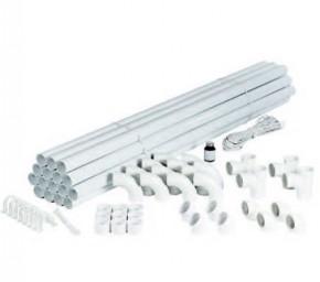 Seturi de montaj pentru patru doze de aspirat - Seturi de montare - Seturi de tevi