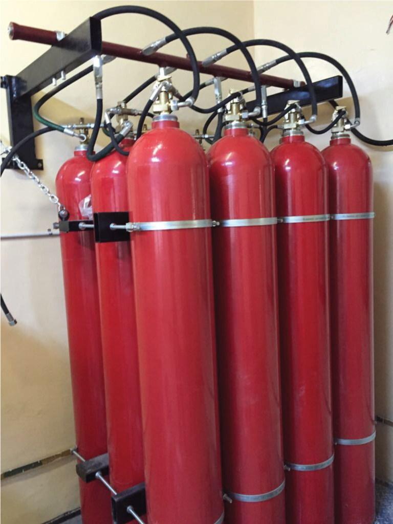 Instalatiile fixe de stingere cu CO2 - Instalatii de stingere incendii