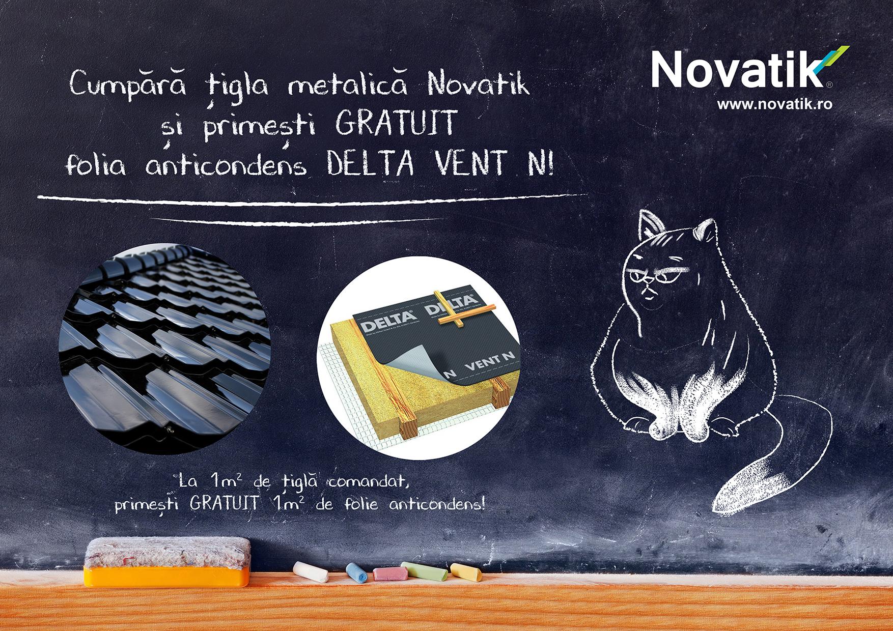 Acoperis Novatik - promotie pana la 15 martie - Acoperis Novatik - promotie pana la 15