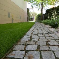Piatra Cubica Granit Gri Sare si Piper Natur - Piatra cubica