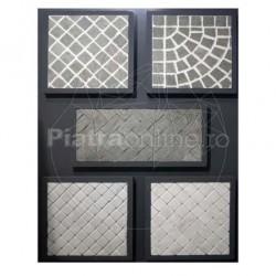 Piatra Cubica Ardezie Kavala Natur 10 x 10 x 5-8cm (1tona = 6-7mp) - Piatra cubica
