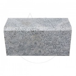 Bordura Granit Gri Sare si Piper - Piatra cubica