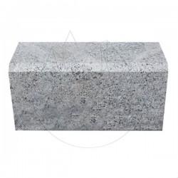 Bordura Granit Gri Sare si Piper 20 x 25 x 50cm - Piatra cubica