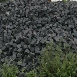 Piatra Cubica Granit Gri Antracit Natur - Piatra cubica