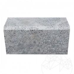 Bordura Granit Gri Sare si Piper (Bizotata 1L - 2cm) 20 x 25 x 50cm - Piatra cubica