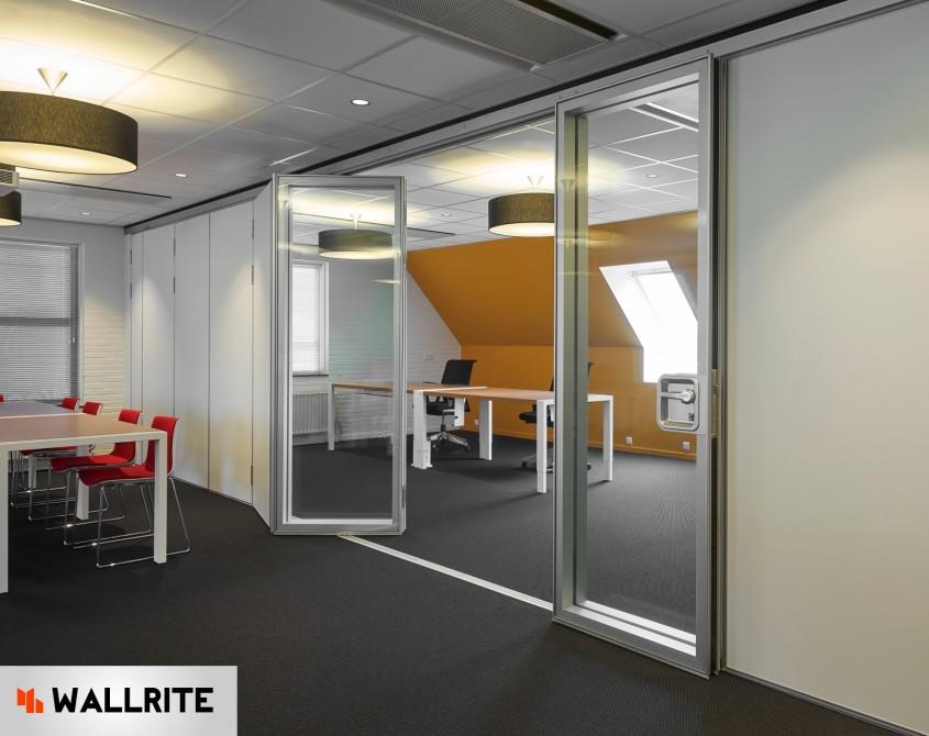 Pereti mobili Visio si Flexio - Biroul tau doreste niste pereti mobili