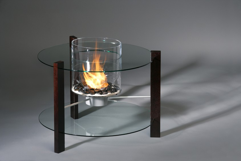 Biosemineul Veranda - efectul flacarilor intr-un cilindru de sticla! - Biosemineul Veranda - efectul flacarilor intr-un