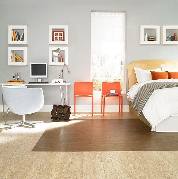Pardoseala din pluta - Finisaje pentru pardoseli - ce se potriveste pentru dormitor?
