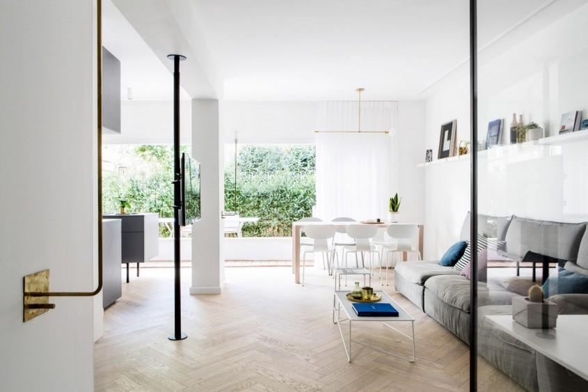 Trucuri menite sa optimizeze spatiul intr-un apartament din Tel Aviv - Trucuri menite sa optimizeze spatiul