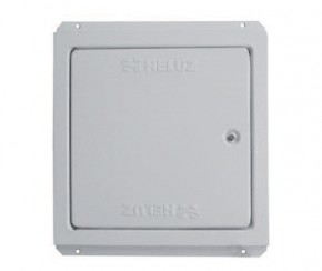 Usita de vizitare si capacul rotund de inchidere etansa - Componentele sistemului cos de fum HELUZ KLASIK