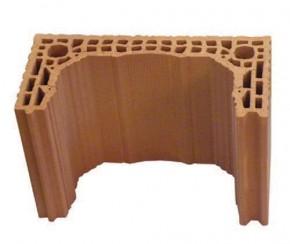 Manta ceramica - Componentele sistemului cos de fum HELUZ KLASIK