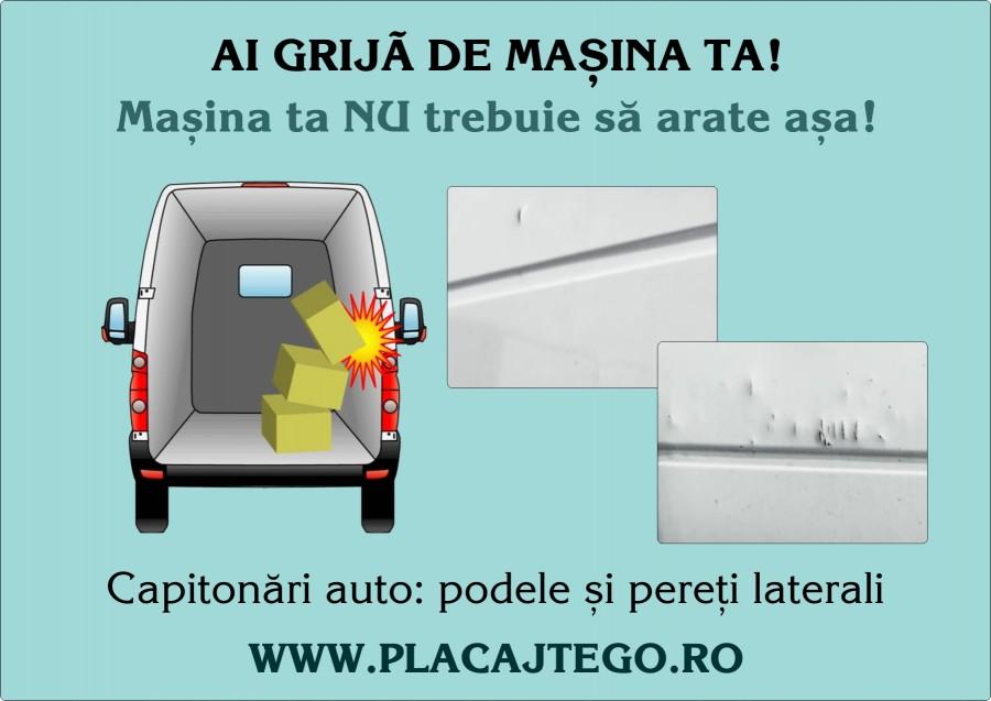 Capitonaj pereti laterali, podele antiderapante - Placaj TEGO profesional pentru capitonari auto