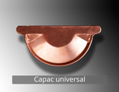 Capac universal - Componentele sistemului pluvial NOVATIK RONDA (Cupru):