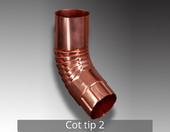 Cot tip 2 - Componentele sistemului pluvial NOVATIK RONDA (Cupru):