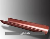 Jgheab - Componentele sistemului pluvial NOVATIK RONDA (Cupru):