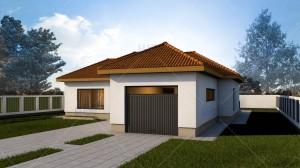 Proiect casa de vacanta Eva - Proiecte de case de vacanta
