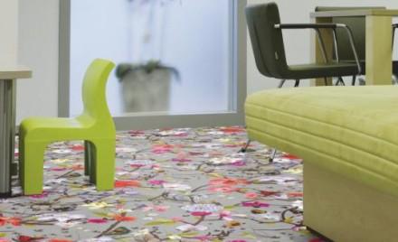 Mocheta Floral - Mocheta Flotex Vision digital print