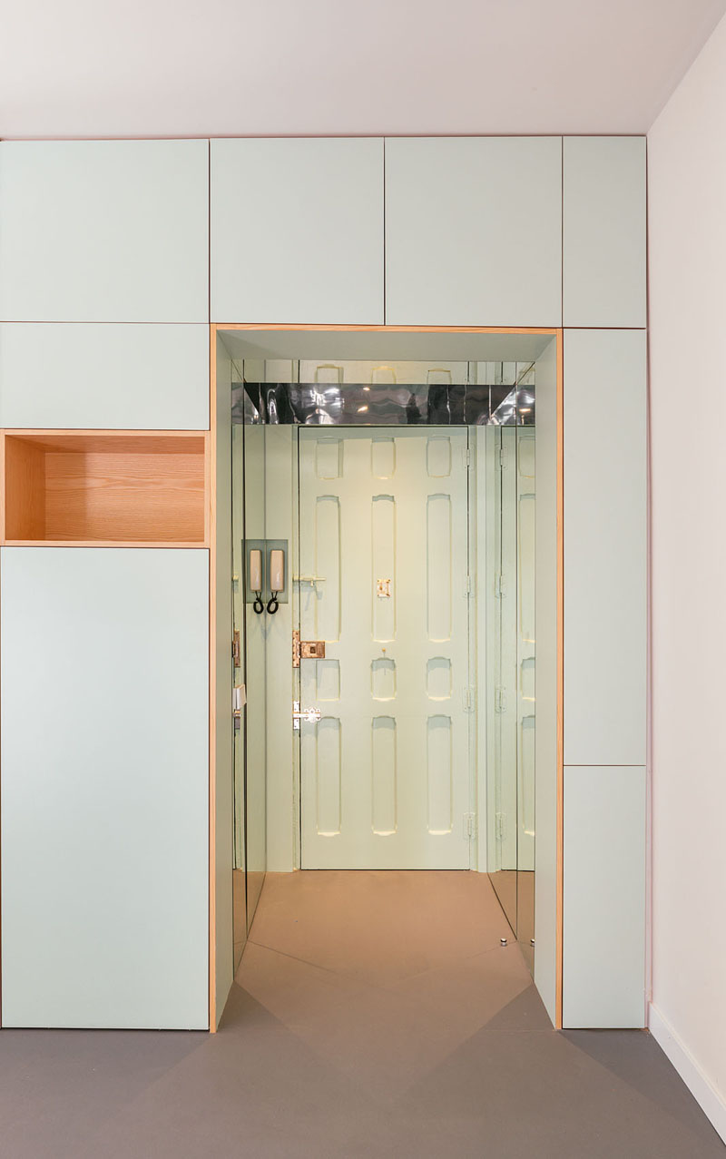 Un apartament mic dar cu solutii ingenioase pentru depozitare - Un apartament mic dar cu soluții