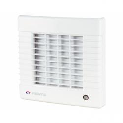 Ventilator cu jaluzele automate si intrerupator fir, diam 100mm, 98mc/h - Ventilatie casnica ventilatoare axiale de perete