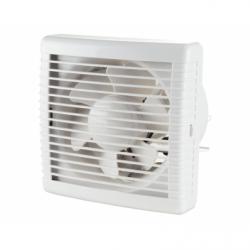 Ventilator dublu sens diam 230mm, extractie 455mc/h, introducere 290mc/h - Ventilatie casnica ventilatoare axiale de perete