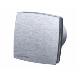 Ventilator diam 100mm cu fata din aluminiu - Ventilatie casnica ventilatoare axiale de perete