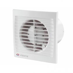 Ventilator diam 100mm cu intrerupator cu fir - Ventilatie casnica ventilatoare axiale de perete