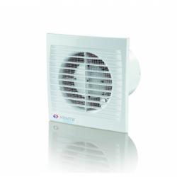 Ventilator cu timer diam 100mm - Ventilatie casnica ventilatoare axiale de perete