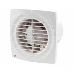 Ventilator diam 125mm cu timer, senzor de umiditate si intrerupator fir - Ventilatie casnica ventilatoare axiale de perete