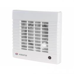 Ventilator diam 100mm cu senzor de umiditate, timer si intrerupator fir - Ventilatie casnica ventilatoare axiale de perete
