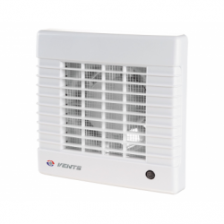Ventilator diam 125mm cu senzor de umiditate si timer, 185mc/h - Ventilatie casnica ventilatoare axiale de perete