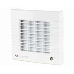 Ventilator cu jaluzele automate diam 100mm, 99mc/h, cu presiune ridicata - Ventilatie casnica ventilatoare axiale de perete