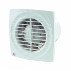 Ventilator diam 100mm cu timer si senzor umiditate, 12V - Ventilatie casnica ventilatoare axiale de perete