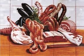 Decor plita gourmet carne - Faianta pentru restaurante