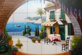 Terasa pe malul marii - Faianta pentru restaurante