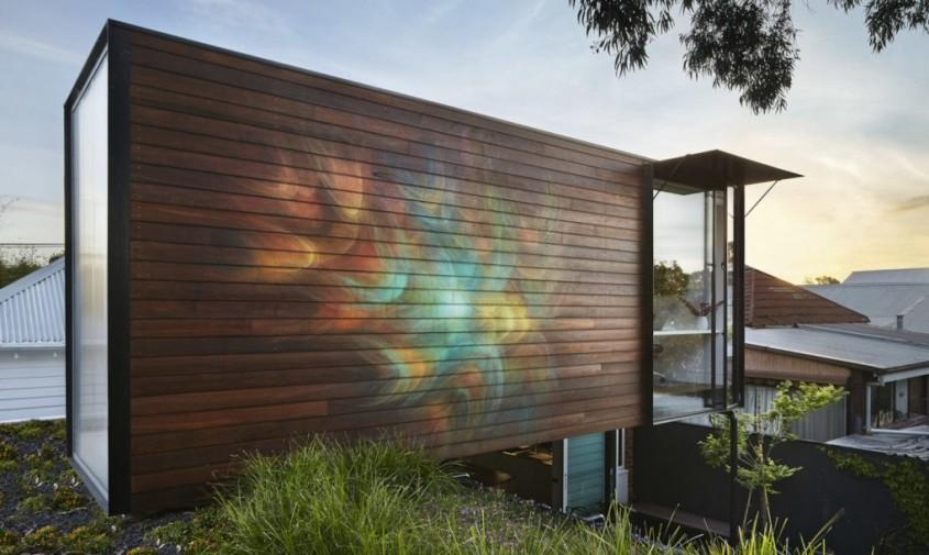 O casă eficientă construită din materiale reciclabile - O casă eficientă construită din materiale reciclabile