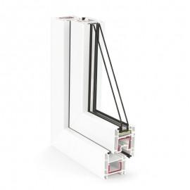 Ferestre cu tamplarie PVC - 3 camere - EURO DESIGN 60 - Profile PVC - Rehau