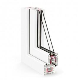 Tamplarie PVC - Rehau seria EURO DESIGN 70 - Profile PVC - Rehau