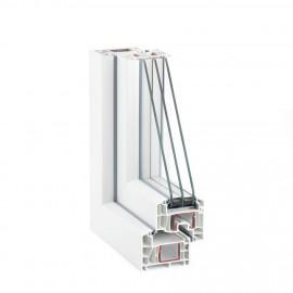 Tamplarie PVC - Rehau seria EURO DESIGN 86 PLUS - Profile PVC - Rehau