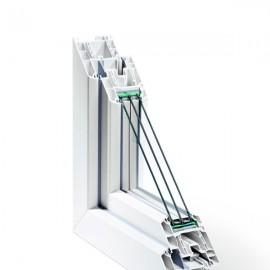 Tamplarie PVC - Rehau seria GENEO - Profile PVC - Rehau