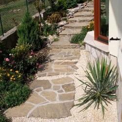 Ardezie poligonala Homa - Lespezi - Decor gradina
