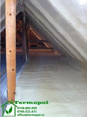 Izolatii termice cu spuma poliuretanica  - Izolatii termice cu spuma poliuretanica