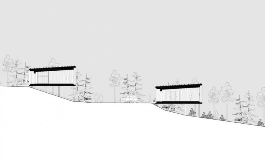 Arctic TreeHouse Hotel - planuri - Admira frumusestea peisajului arctic dintr-un hotel ca o casa in