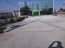 Reparatie zonala a betonului - exemplu -  Reparatii zonale ale betoanelor fisurate/degradate