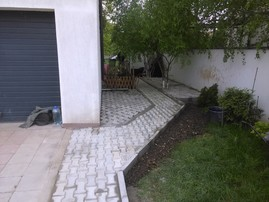 Exemplu de reparatie zonala a betonului -  Reparatii zonale ale betoanelor fisurate/degradate