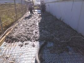 Platforma betonate -  Reparatii zonale ale betoanelor fisurate/degradate