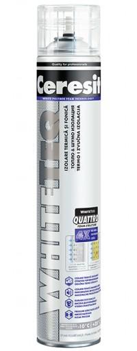WhiteTeq Thermal & Sound - Spuma poliuretanica extrem de alba - Spume poliuretanice - Ceresit