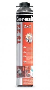 Spuma poliuretanica universala 2x2 - de montaj si de pistol, pentru iarna si pentru vara - TS 22  - Spume poliuretanice - Ceresit