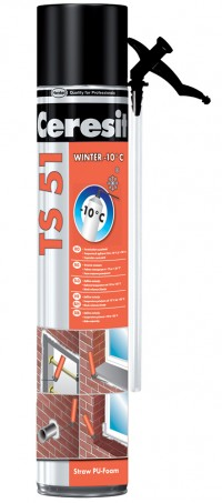 TS 51 Winter - Spuma poliuretanica de montaj, pentru iarna - Spume poliuretanice - Ceresit