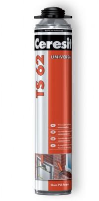 TS 62 Universal - Spuma poliuretanica de pistol, pentru vara - Spume poliuretanice - Ceresit