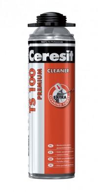 TS 100 - Solutie de curatare pentru spuma poliuretanica neintarita - Spume poliuretanice - Ceresit